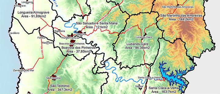 mapa de odemira CM Odemira / Sistema de Informação Geográfica Municipal   SIG mapa de odemira